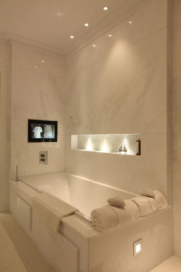 Bathroom lamps recessed alcove bath lighting  Bathroom