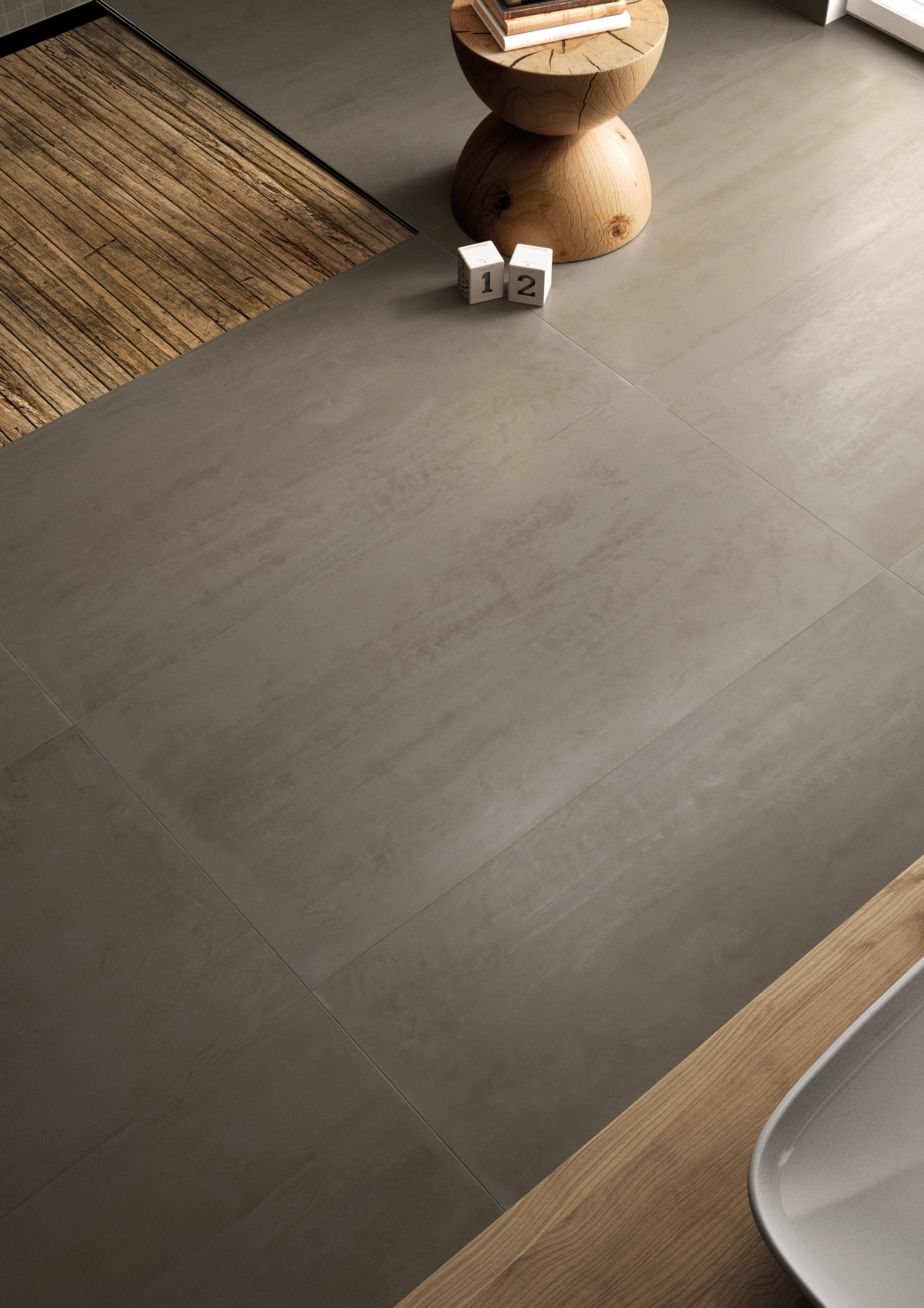 Carrelage Interieur Effet Resine 60x60 Olive Lappato Rectifie Collection Syncro Century Carrelage Interieur Tuile Carrelage