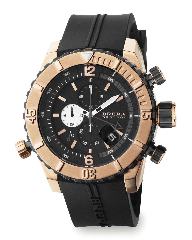 Sottomarino Diver Watch, Black