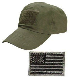 Ultimate Arms Gear Tactical Military OD Olive Drab Green Baseball Sport  Team Hat Cap + USA 0f1d3429c11