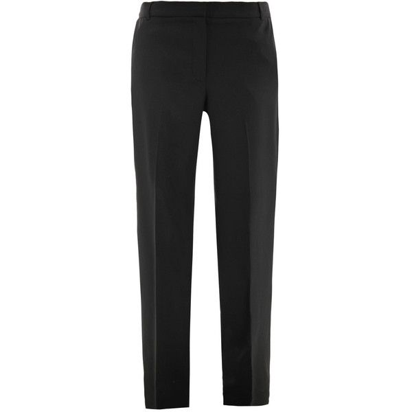 Elizabeth and James Cain braced trousers ($349) ❤ liked on Polyvore