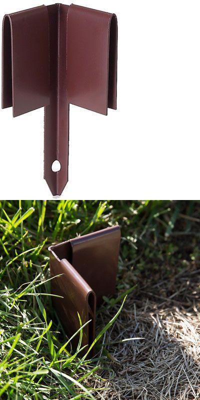 Details About Col Met 8 In Brown Steel Corner Edging Stake 640 x 480