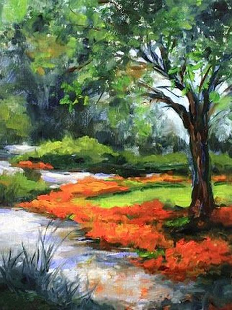 Image Result For Easy Acrylic Painting Idea Landscape Paintings Canvas Painting Beautiful Art