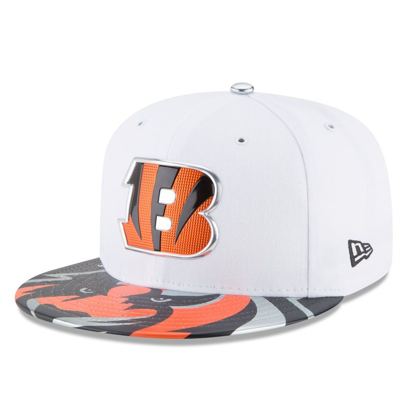 check out 6ece2 3e069 Cincinnati Bengals New Era Youth 2017 NFL Draft Official On Stage 59FIFTY  Fitted Hat - White
