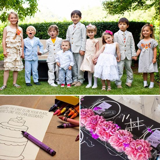 Bringing kids to a wedding? Tips on how to keep your little ones happy on the big day.
