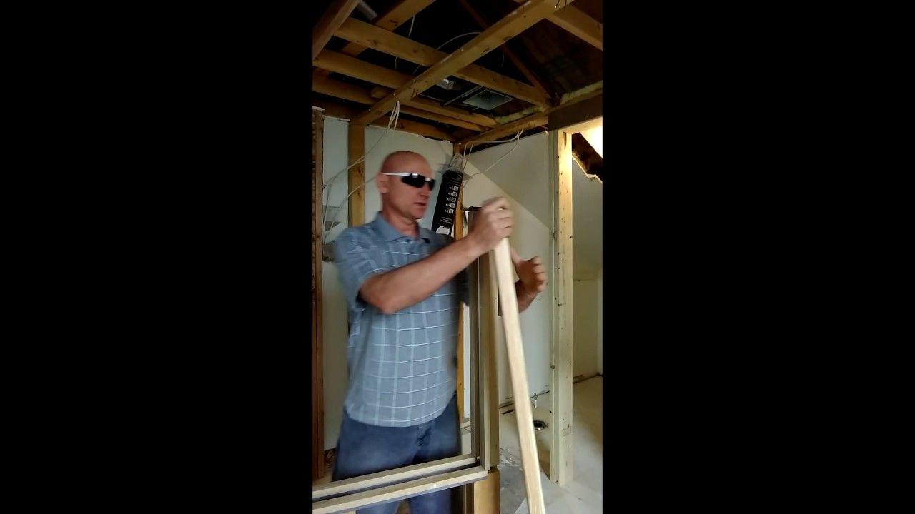 Home Depot sliding pocket door frame installation instructions ...