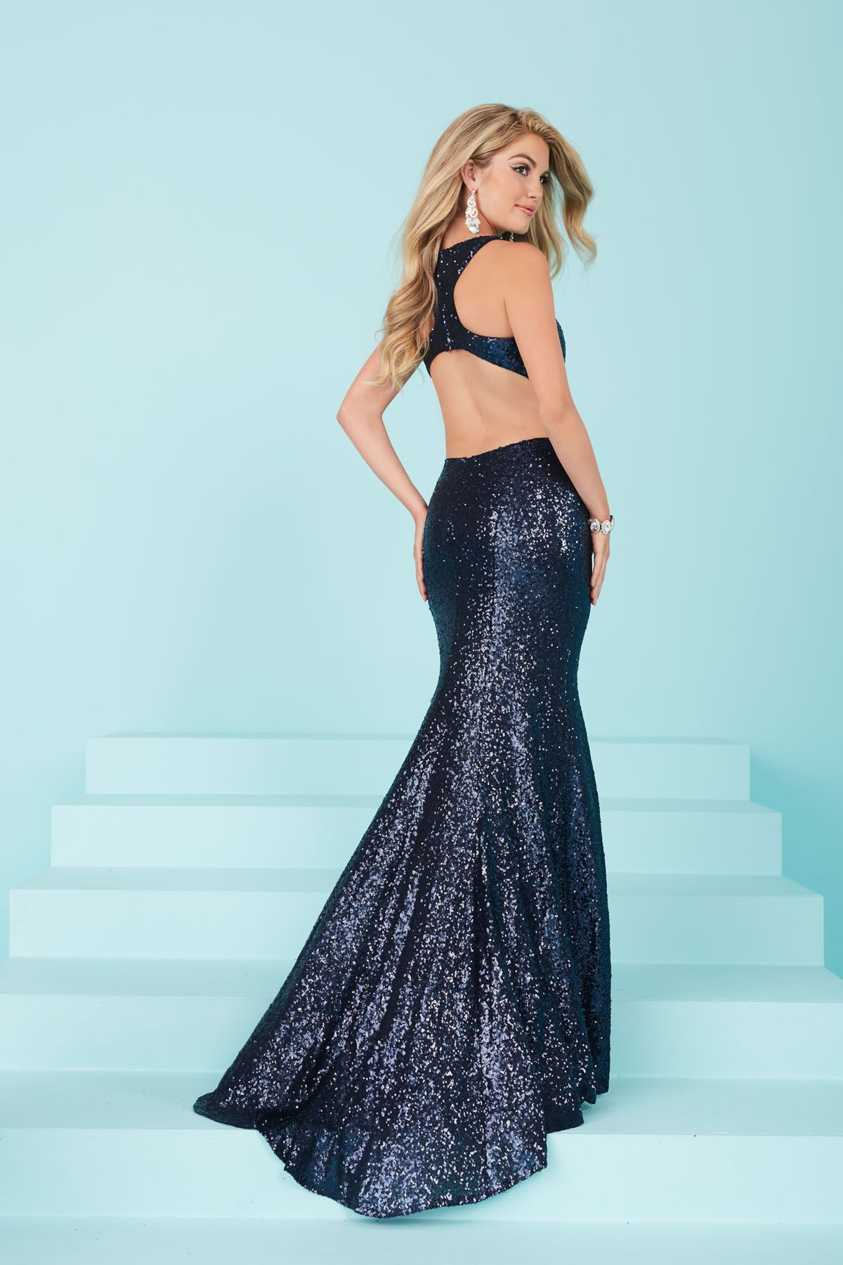 Tiffany Designs 16226 sequin prom dress - International Prom ...