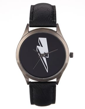 Reloj con diseño de rayo de ASOS