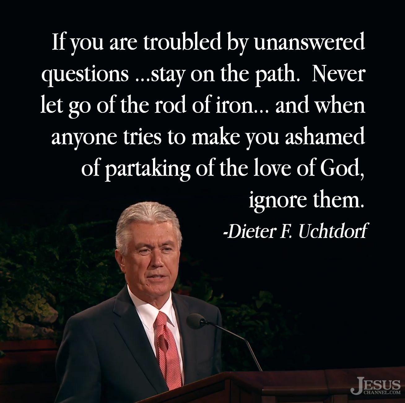 Deiters Zitate Zum Thema Jesus Christus Evangeliums Zitate Mormonen Zitate Lds Zitate
