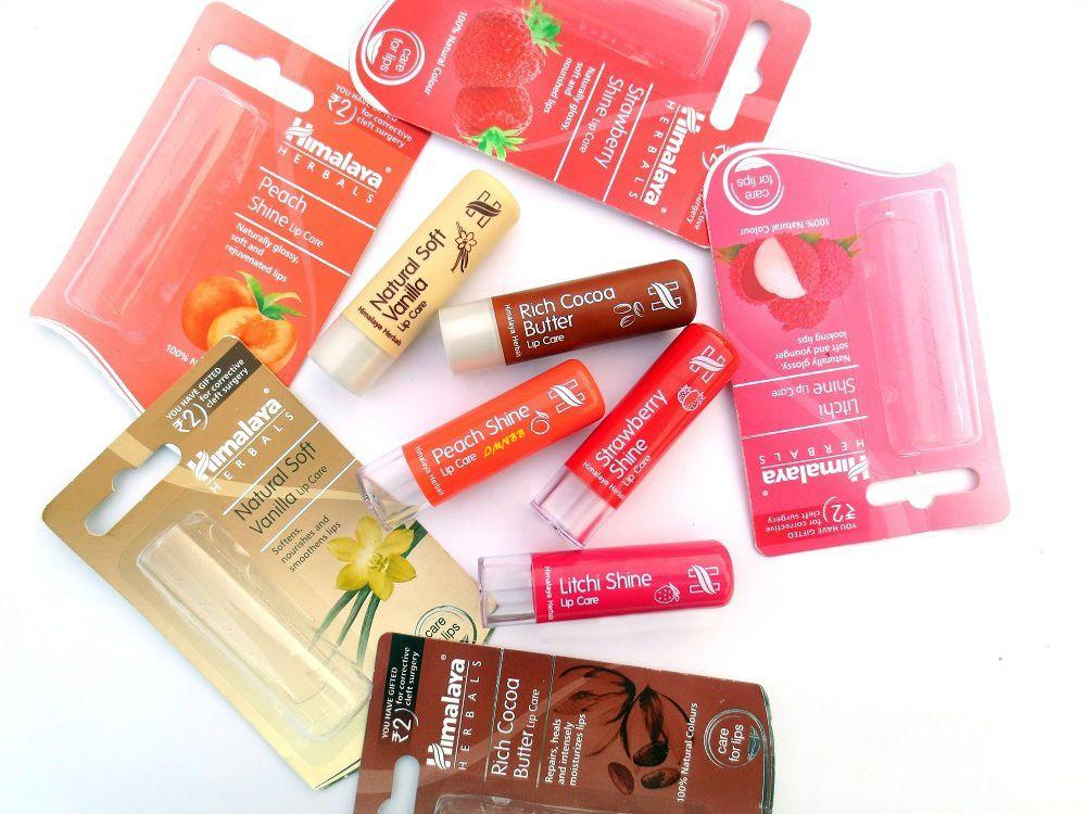 Himalaya Herbals Strawberry Shine Lip Care Review Lip Care