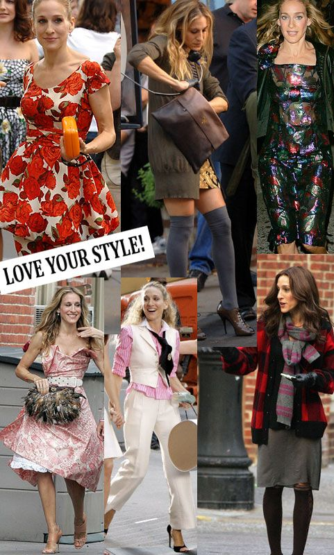 carrie bradshaw outfits   Top•Fashion : who doesn`t love carrie bradshaw`s looks?