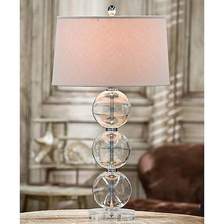 Regina Andrew Crystal Glass Ball Table Lamp With Crystal Base Brand: Regina  Andrew Product ID