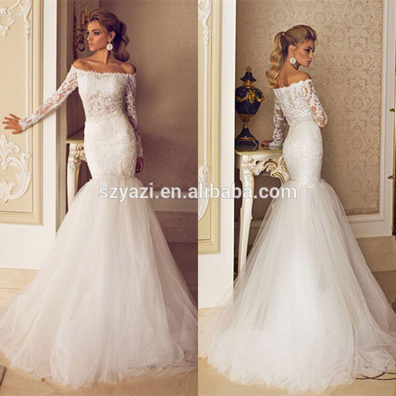 Whole Long Fishtail Wedding Dress In Bulk From Best