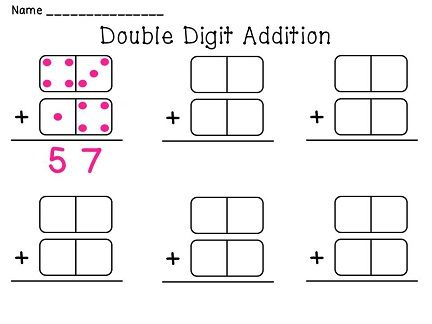 Dominoes Math Centers NO PREP Activities (Entire Year Set of Math ...