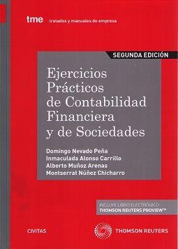 Ejercicios Prácticos De Contabilidad Financiera Y De Sociedades De Domingo Neva Contabilidad De Sociedades Contabilidad Financiera Ejercicios De Contabilidad