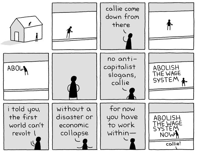 cartoon essay writing