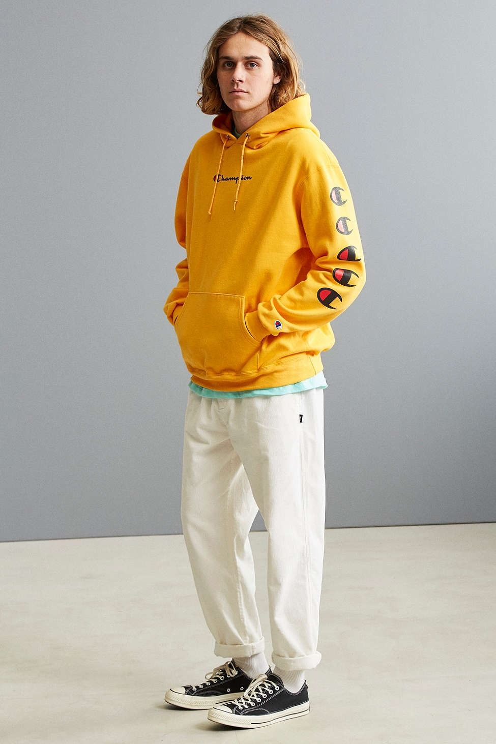 a4a89882bfd4 Champion Repeat Eco Hoodie Sweatshirt - Urban Outfitters
