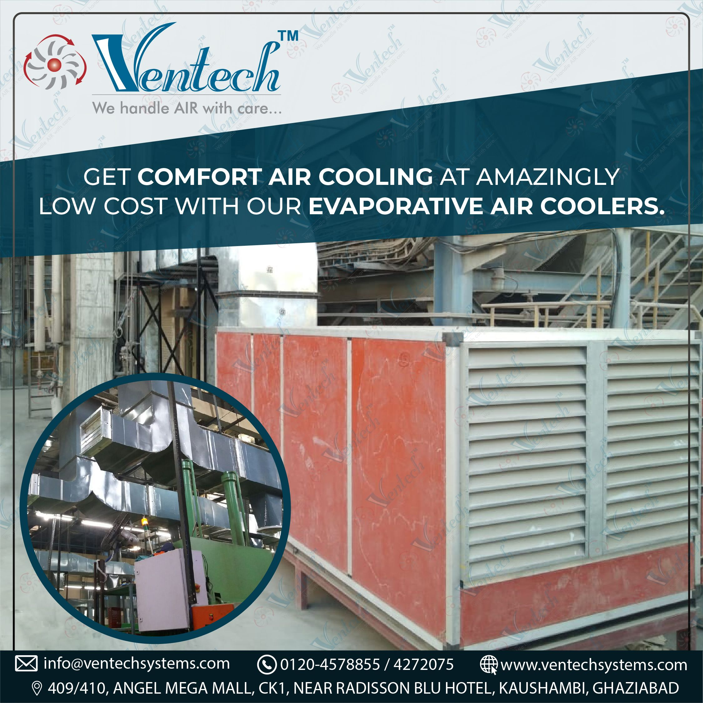 Get Comfort Air Cooling at Amazingly Low Cost with our