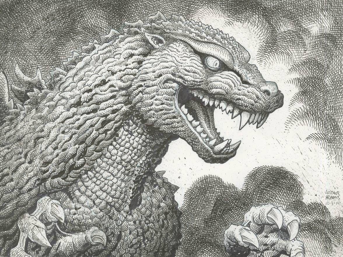 Godzilla by Arthur Adams.