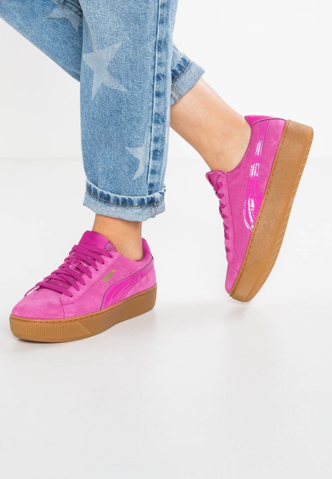 Puma. VIKKY PLATFORM Sneaker low rose violet. Sohle