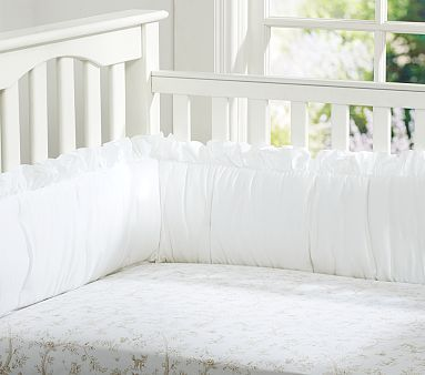 Fairy Toile Crib Fitted Sheet From Pottery Barn Will