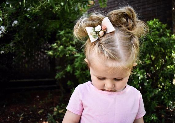 Mustard Felt Bow Headband. Girl Felt Bow Hair Clip. Baby Bow Headpiece. Newborn Felt Bow Headband. Felt Bow Clip. Baby Hair Accessories