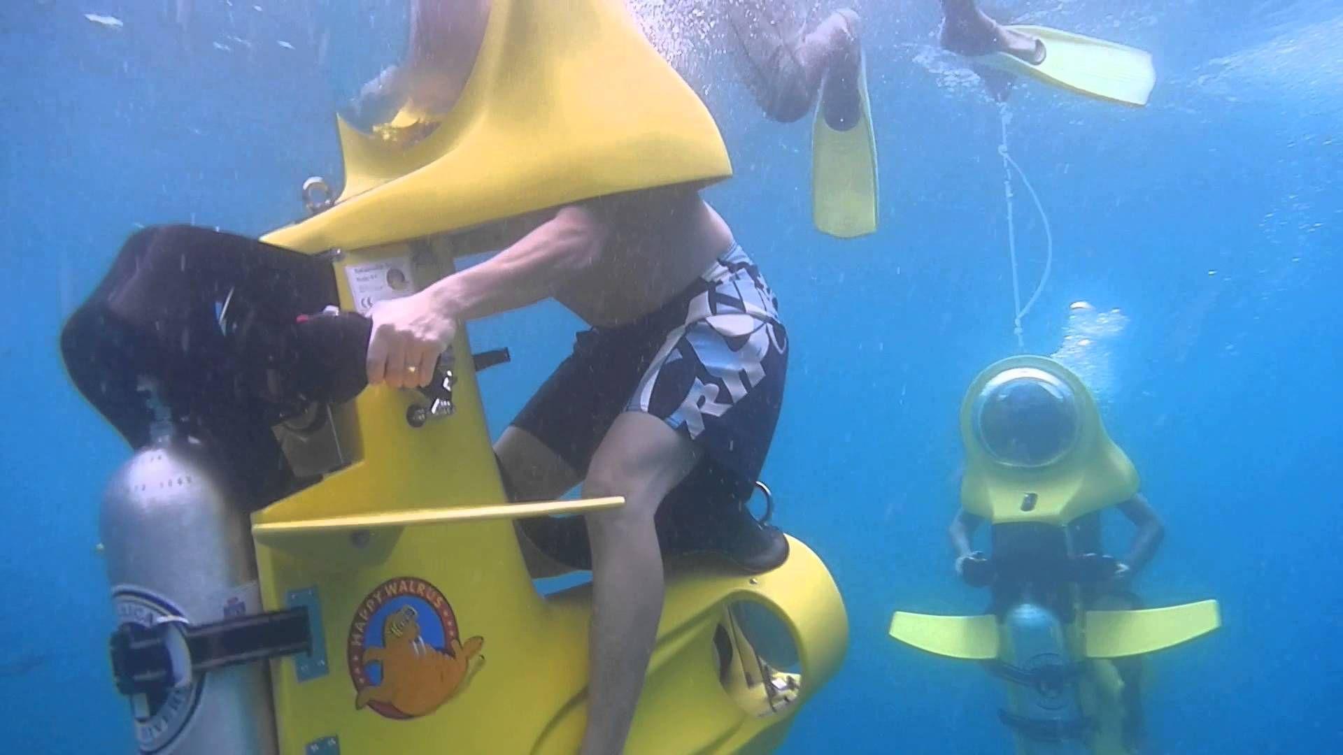 Bali Underwater Scooter at Lembongan Island Bali