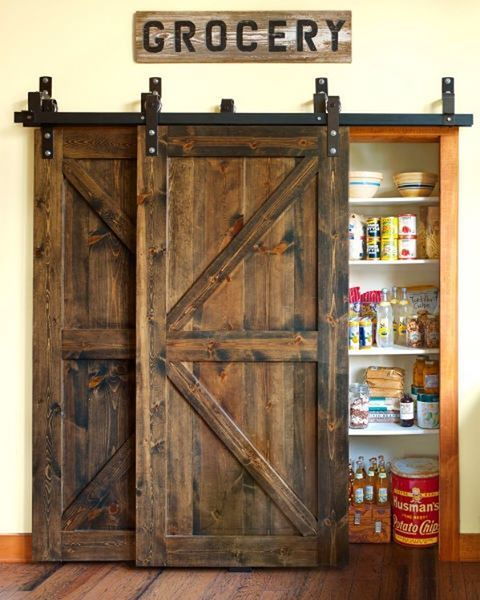 We weren't raised in a barn, but we do love the way those doors look! #CLdecor #farmlife (📷: @annieschlechter)