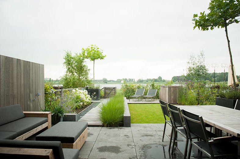 Cooler Reihenhausgarten By Buytengewoon.