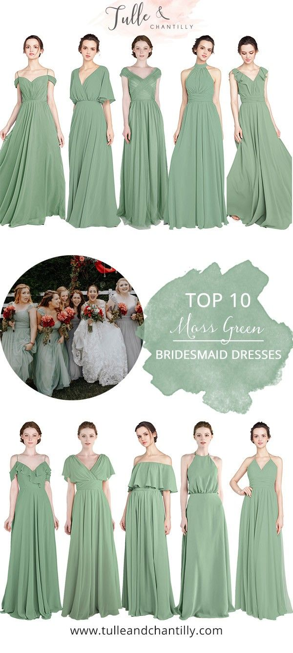 Green bridesmaids dress  Long u Short Bridesmaid Dresses From  in Size  and  Color