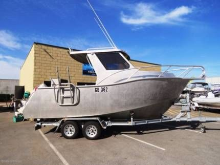 Cnc Marine 6 1 Hard Top Sports Cab Great Offshore Soft Ride Motorboats Powerboats Gumtree Australia Wanneroo Area Power Boats Motor Boats Used Boats