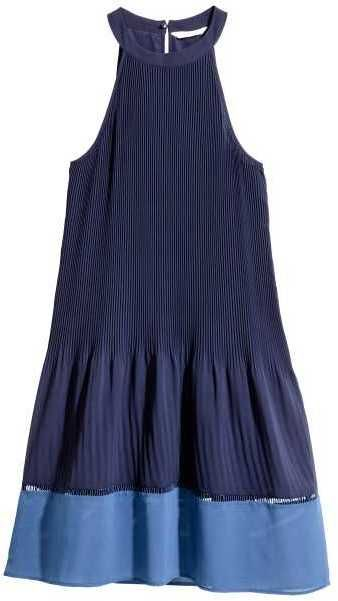H&M Pleated Dress