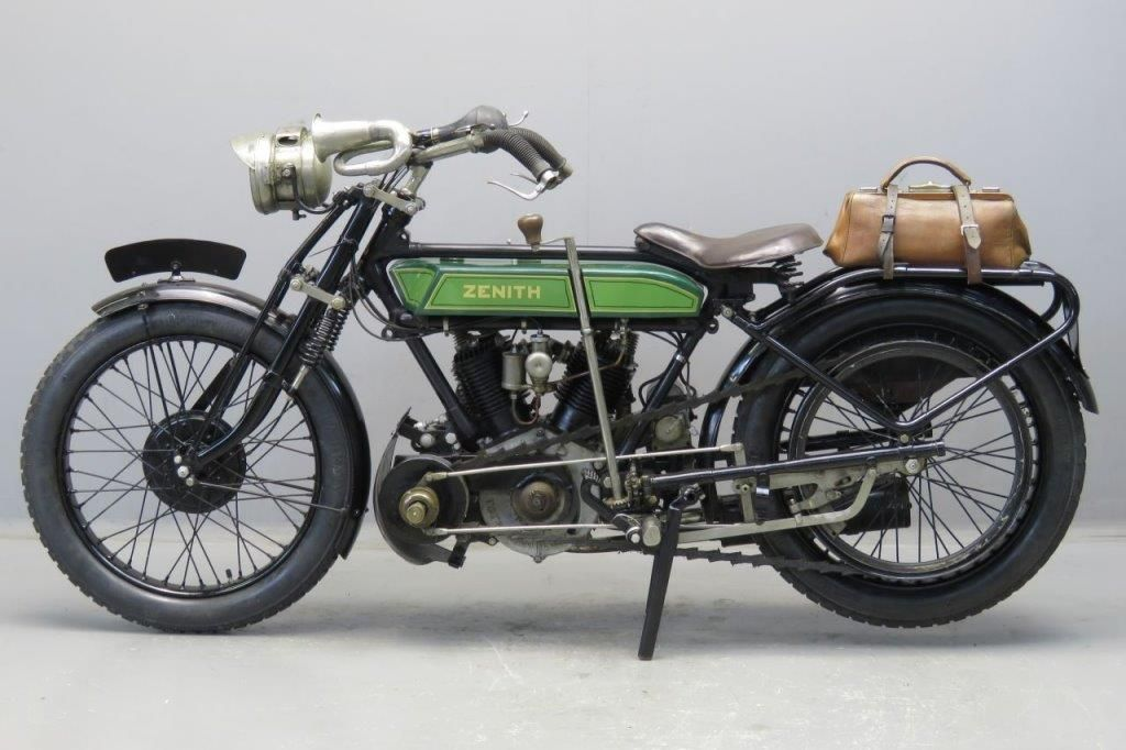 Zenith 1920 8hp 1000cc 2 Cyl Sv 2603 Yesterdays Zenith Old Bikes Vintage Motorcycles