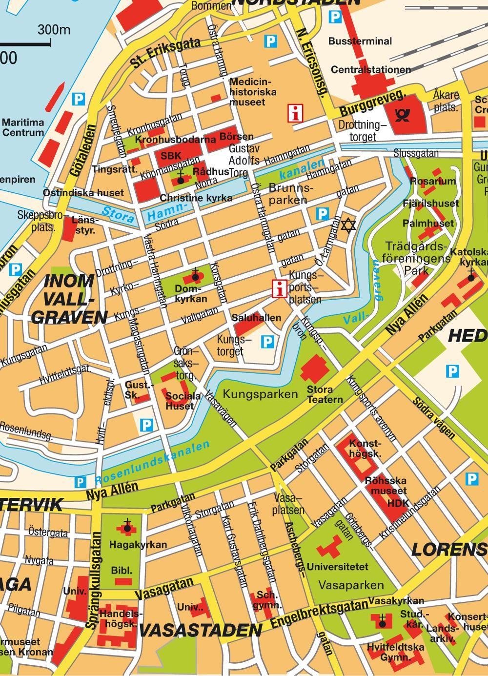 gothenburg map Google map Pinterest