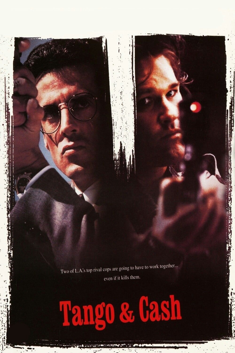 Tango And Cash Movie Poster Fantastic Movie Posters Scifi Movie