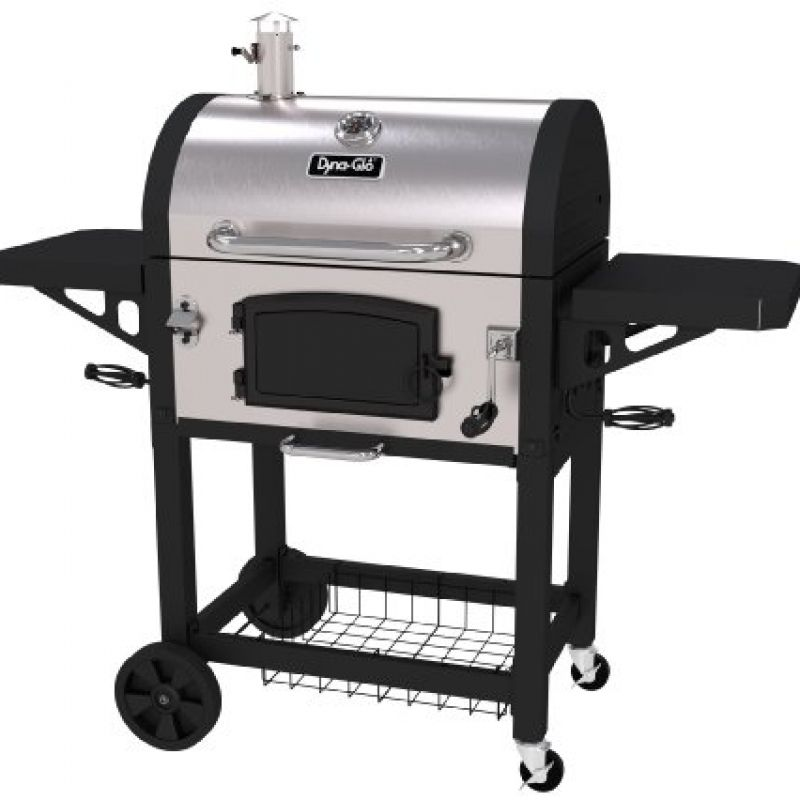Dyna Glo Dgn486snc D Heavy Duty Stainless Charcoal Grill Charcoal Bbq Grill Charcoal Bbq Charcoal Grill