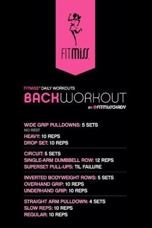 FitMiss Back Workout by malinda