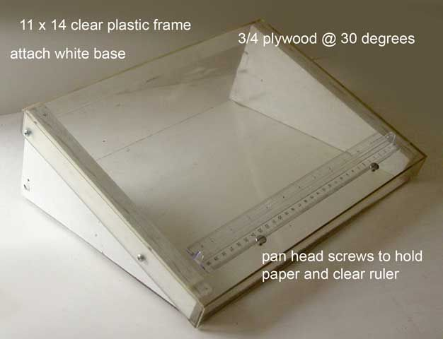 Full Circle Old School To New School Drawing And Painting Inexpensive Diy Light Box Laptop Style For Storyboar Light Box Diy Diy Lighting Diy Light Table