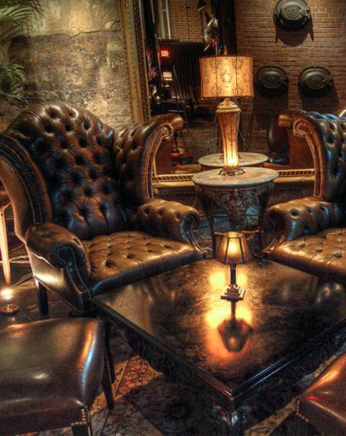 Le canap club quel type de canap choisir pour le salon salons et canap s - Type de cuir pour canape ...