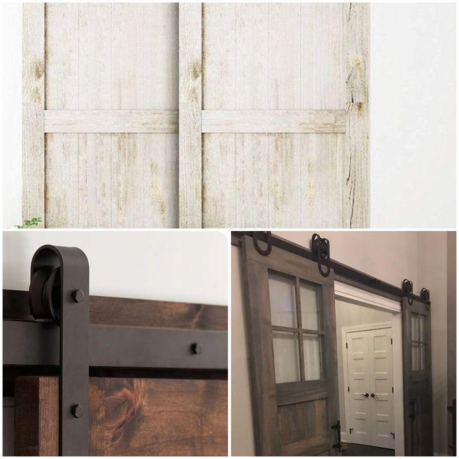 Top Mount Sliding Door Hardware Barn Door Hardware For Small Doors Old Sliding Barn Door Hardwar In 2020 Diy Barn Door Hardware Diy Sliding Barn Door Diy Barn Door