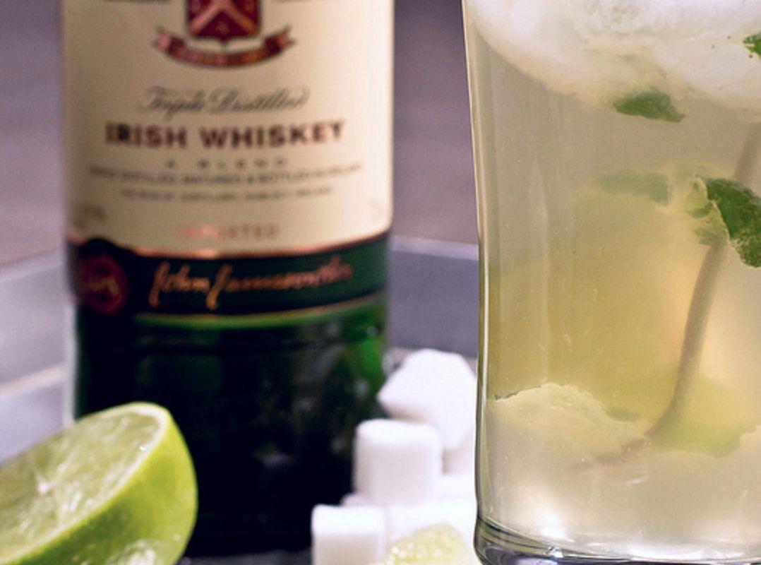 Leprechaun Mojito Recipe Jameson Irish Whiskey Mojito Drinks
