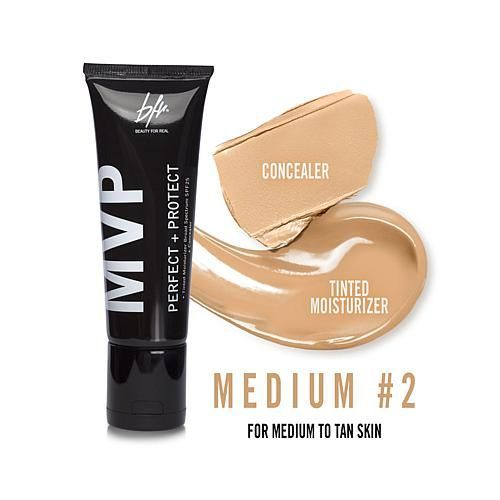 Beauty For Real MVP Perfect + Protect 2-in-1 Tinted Moisturizer & Concealer - Medium #2