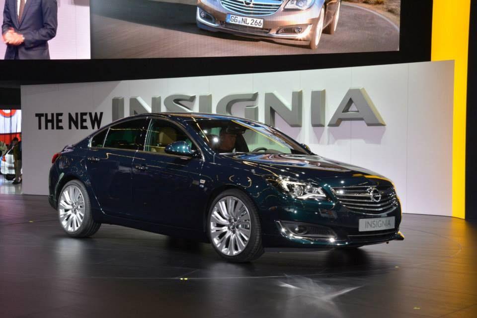 2014 Opel Insignia 2013 Frankfurt Otomobil Fuarında IAA