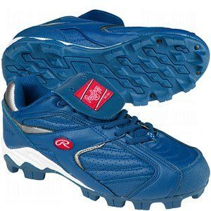 47d8bf4491f0c Rawlings Youth Clubhouse Low Cleat, Royal - Size 3 by Rawlings ...