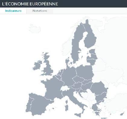 Une Carte Interactive Pour Comparer L Economie Des Pays Membres De L Union Europeenne