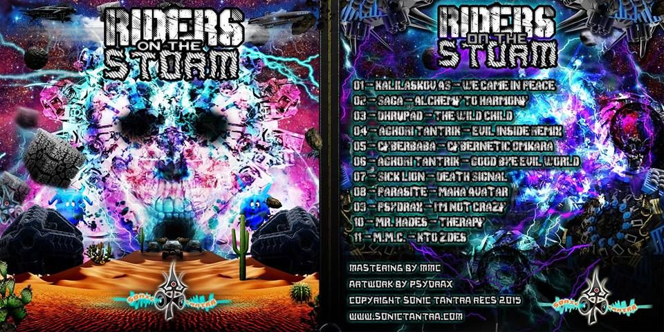 VA - Riders on the Storm (2015) | Psytrance Music | Riders