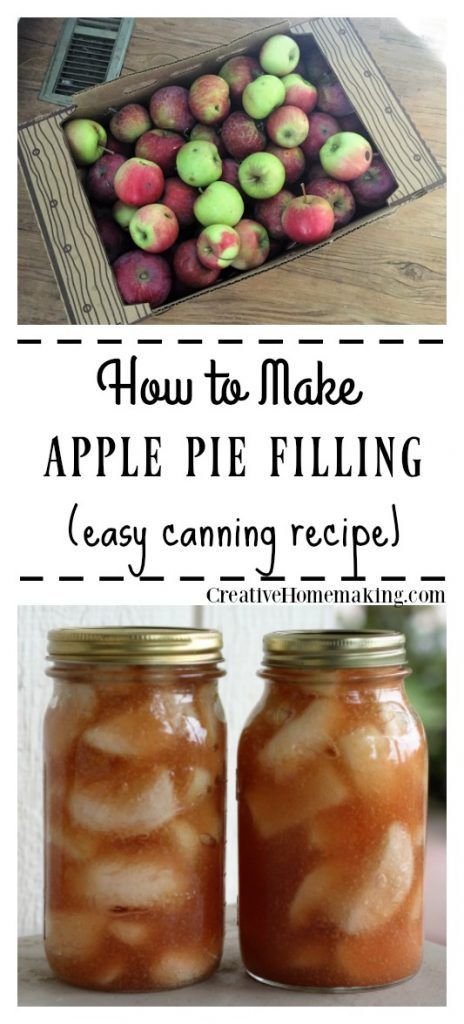 How to Can Apple Pie Filling  - Good food ideas - #Apple #Filling #Food #good #ideas #pie #applepie