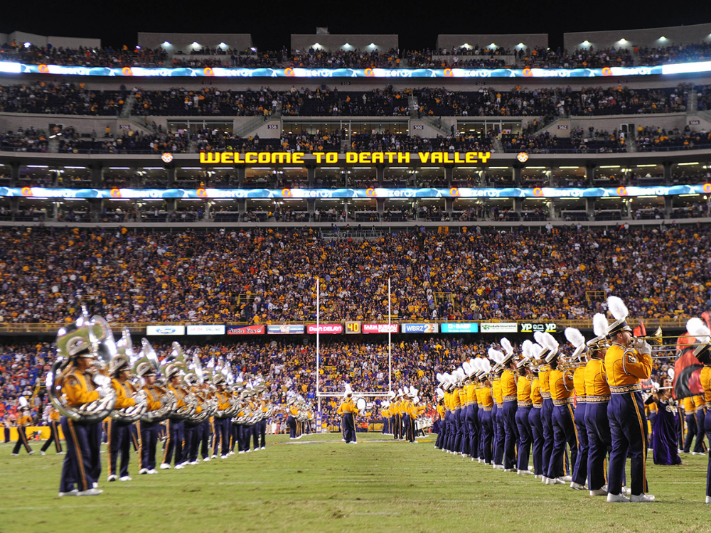 Football Season in Louisiana 6 Stadiums to Watch a Game