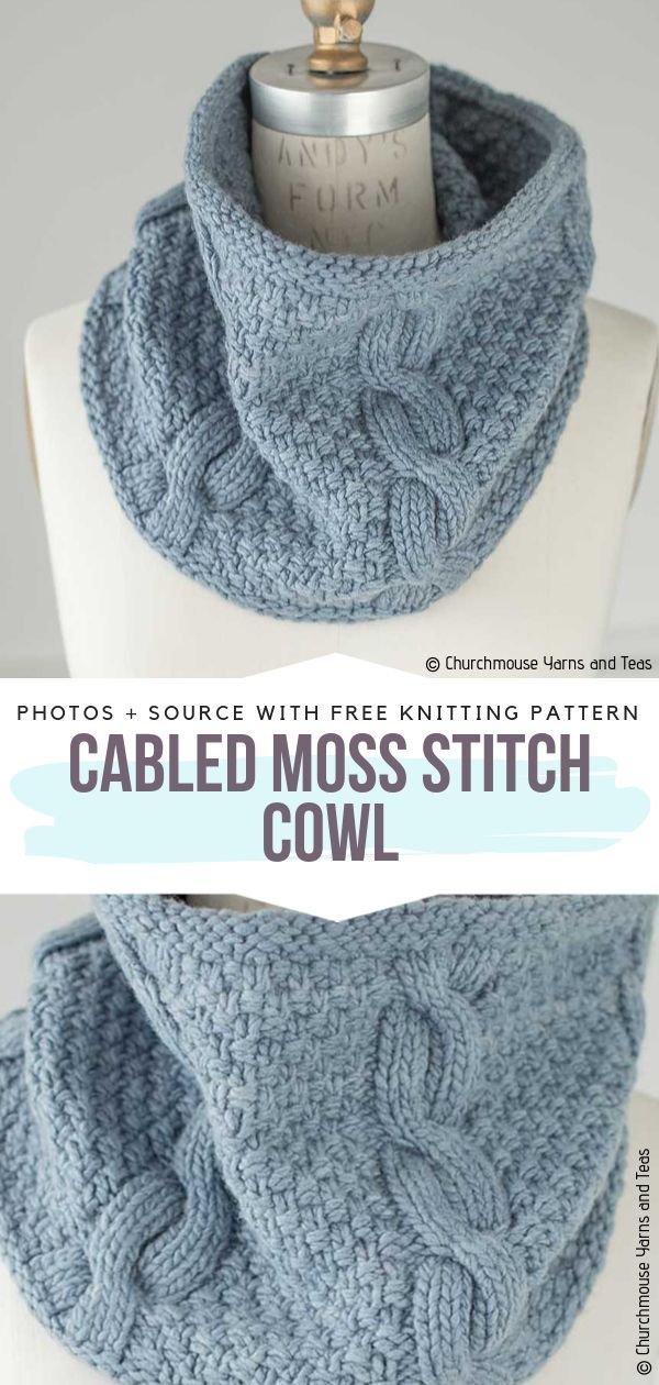 Cable Knitted Cowls Free Patterns | Knit cowl, Knitting ...