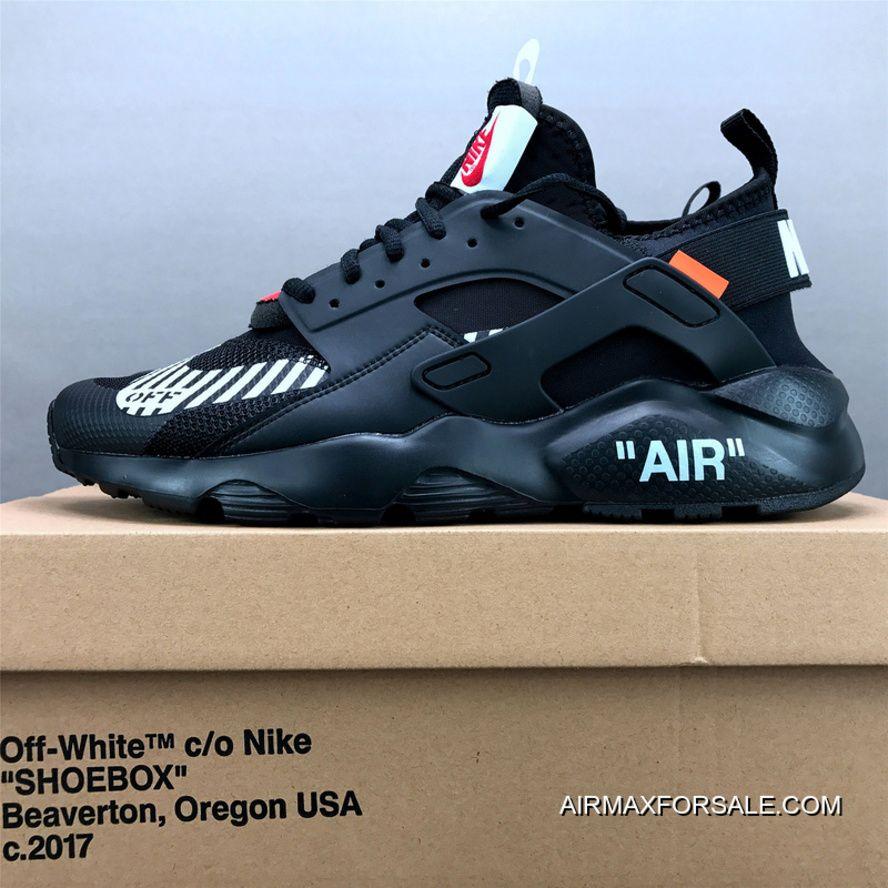 cheaper de092 e414b Men Off White X Nike Air Huarache Running Shoe SKU 50567-246 Free Shipping